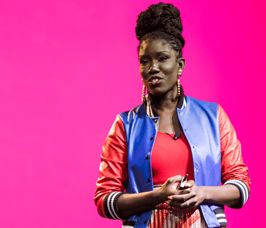 Bozoma Saint John speaking at INBOUND