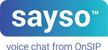 sayso by OnSIP Logo