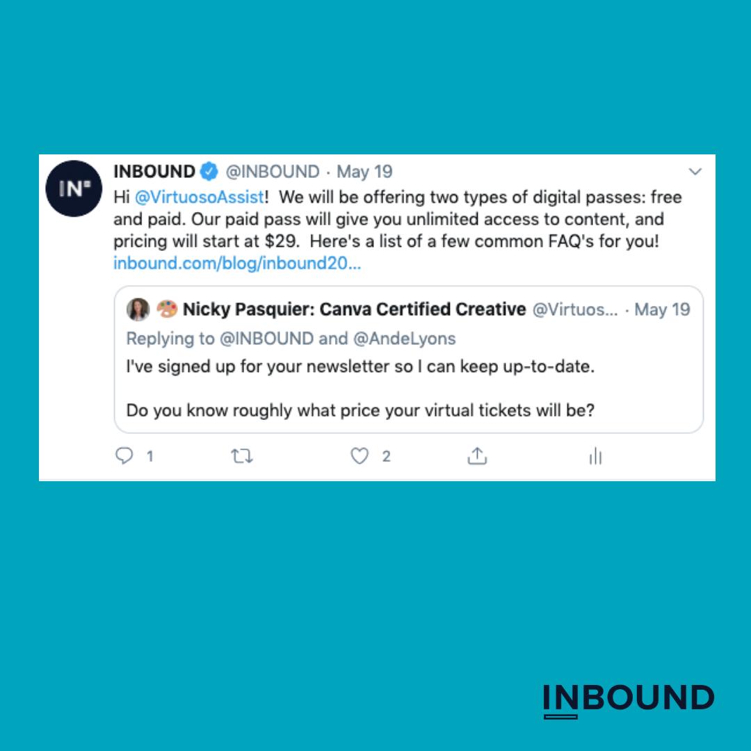 inbound 2020 passes tweet
