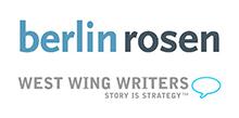 BerlinRosen & West Wing Writers Logo