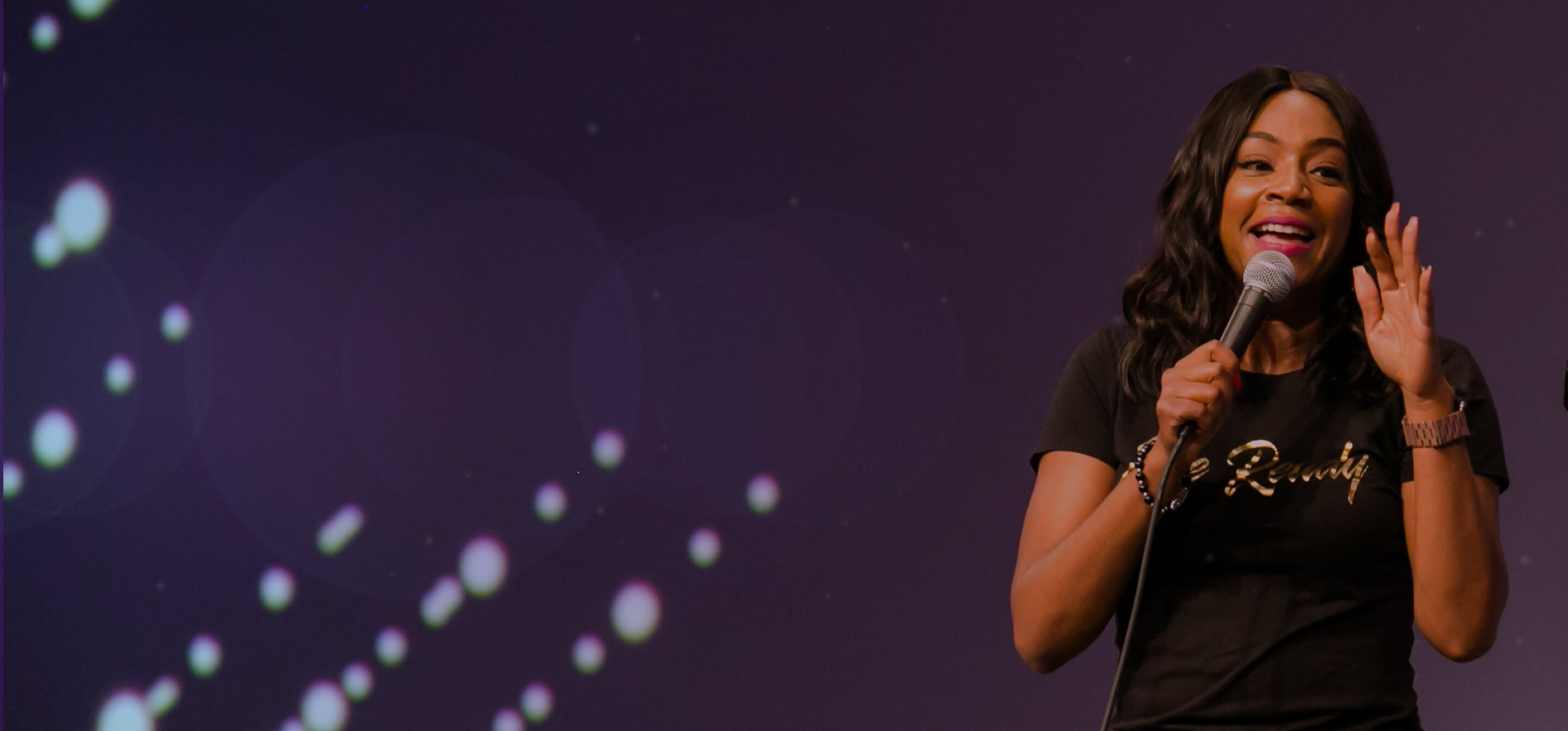 INBOUND 2019 Comedian Tiffany Haddish performing at INBOUND Rocks event